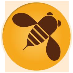 bee-circle